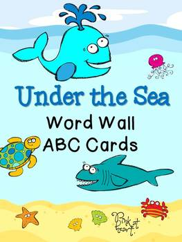 Under the Sea - Word Wall ABC Cards