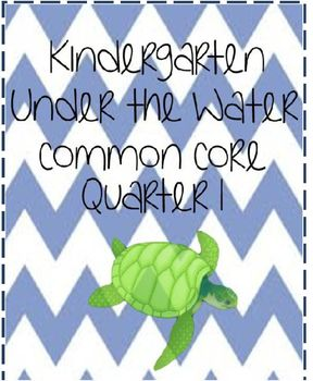 Under the Water Ocean Common Core Unit Math and Literacy