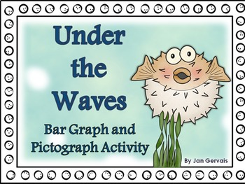 Under the Waves Bar Graph and Pictograph Activity