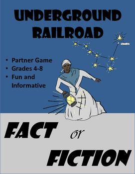Underground Railroad - Fact or Fiction Game