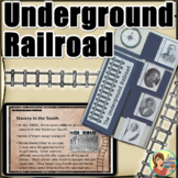 Black History Month - Underground Railroad Lapbook