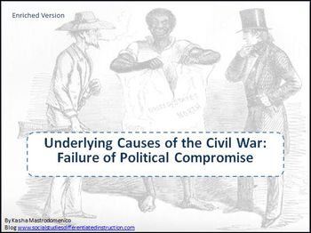 Underlying Causes of the Civil War: Failure of Political C