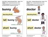 Understand Descriptive Words: Lesson 7, Book 8 (Newitt Pre