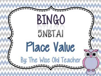 Understand Place Value Bingo Game PowerPoint with Blank Bi