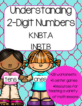 Understanding 2 digit numbers (Lessons and Activities)