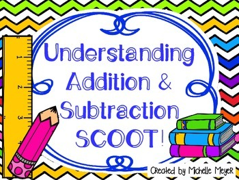 Understanding Addition & Subtraction SCOOT!