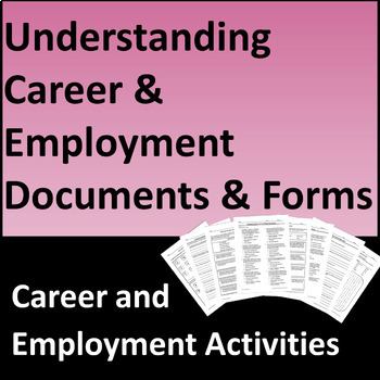 Understanding Career and Employment Documents & Forms
