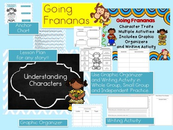 Understanding Characters Lesson Activities AND Character T
