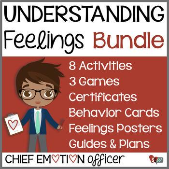 Understanding Feelings Bundle - Chief Emotion Officer