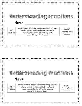 Understanding Fractions - 3rd Grade Math Assessment - 3.NF.1