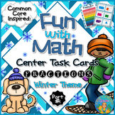Understanding Fractions Math Center Task Cards Common Core