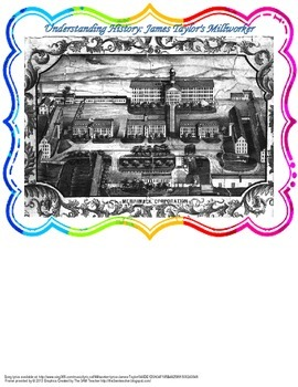Understanding History: James Taylor's Millworker