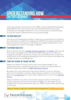 Understanding How the TOEFL Is Scored