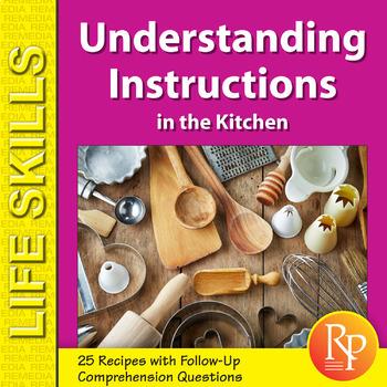 Understanding Instructions in the Kitchen