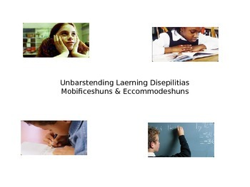 Understanding Learning Disabilities Power Point