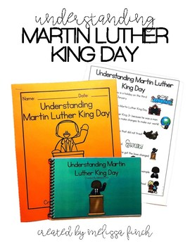 Understanding Martin Luther King Day- Social Story for Stu