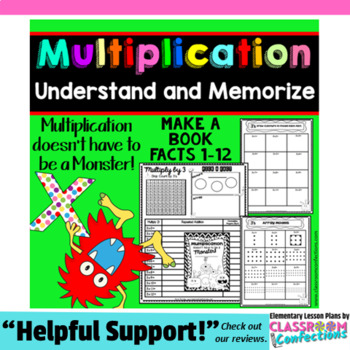 Multiplication Activities: Multiplication Facts: Understan