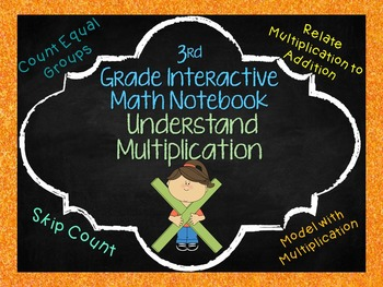 Understanding Multiplication Notebook Pages Aligned with 3