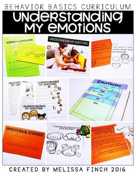 Understanding My Emotions- Behavior Basics Program for Spe