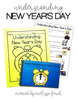 Understanding New Years- A Social Story for Students with