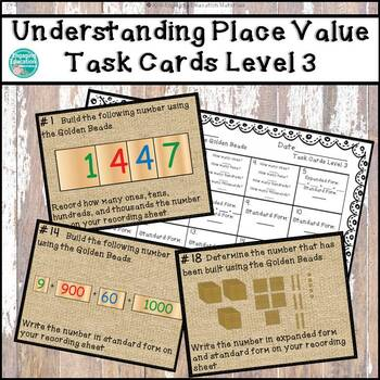 Understanding Place Value with the Montessori Golden Beads