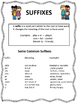 Understanding Prefixes and Suffixes