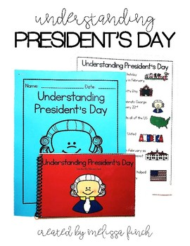 Understanding President's Day- Social Story for Students w