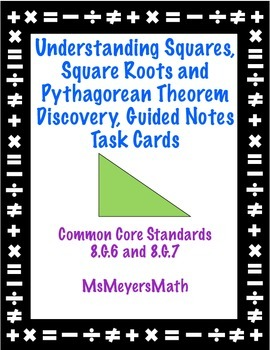 Understanding Squares, Square Roots, & Pythagorean Theorem