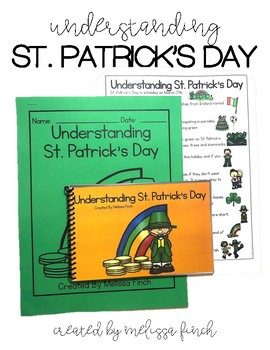 Understanding St. Patrick's Day- Social Story for Student'