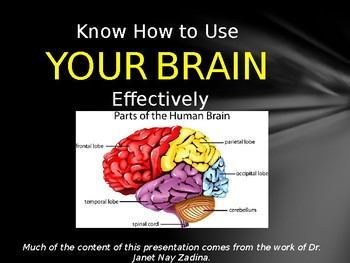 Understanding Your Brain Lesson Plan and PowerPoint