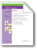 Understands Ordinal Numbers (Math Assessment PreK)