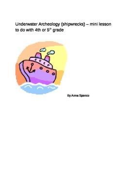 Underwater Archaeology - mini lesson