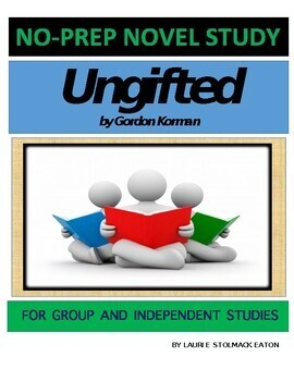 Ungifted Novel Study Lesson Plans-Gordon Korman