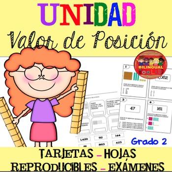 Unidad Valor de Posición / Place Value Unit in Spanish 2nd