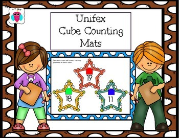 Unifex Cube Counting Mats