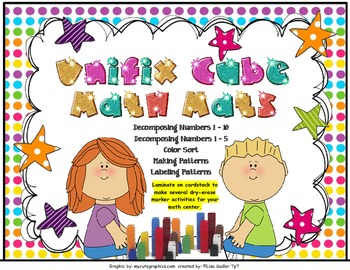 Unifix Cube Math Mats and/or Worksheets