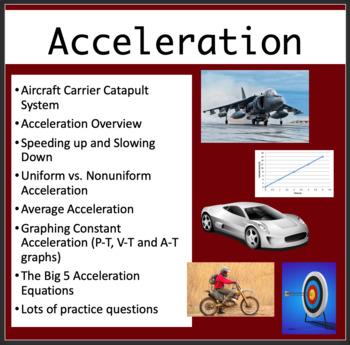Uniform Acceleration - PowerPoint Lesson, Review Questions
