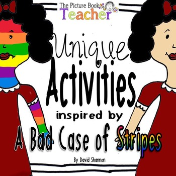 Unique Activites inspired by A Bad Case of Stripes by Davi