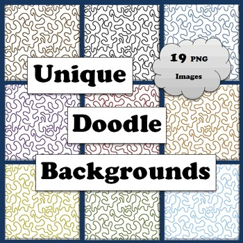 Unique Doodle Backgrounds