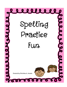 Unique Learning Spelling List 1 - February 2016 (Elementary)