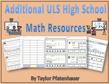 Unique Learning Systems Additional Math
