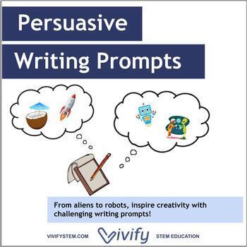 Unique Persuasive Writing Prompts: Robots, Aliens, Mars, a