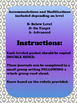 Unit 1 Main Selection Differentiated Journal- Grade 1 Read