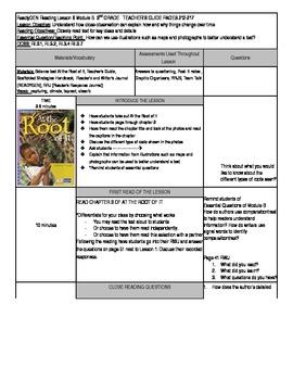 Unit 1 Module B Lesson 6 ReadyGEN Grade 3