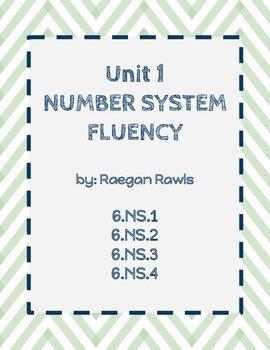 Unit 1-Number System Fluency Scavenger Hunt