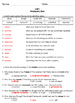 Unit 1 Vocabulary Quiz -Reading Wonders