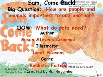 Unit 1 Week 1 - Sam, Come Back! - Lesson Bundle (Versions