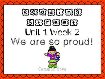 Unit 1 Week 2 Kindergarten Reading Street PowerPoint. We A