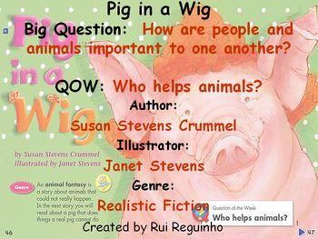 Unit 1 Week 2 - Pig in a Wig - Lesson Bundle (Versions 201