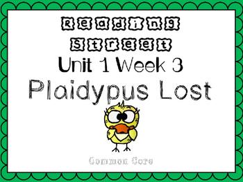 Unit 1 Week 3 Kindergarten Reading Street PowerPoint. Plai